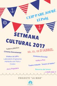 SETMANA CULTURAL 2017